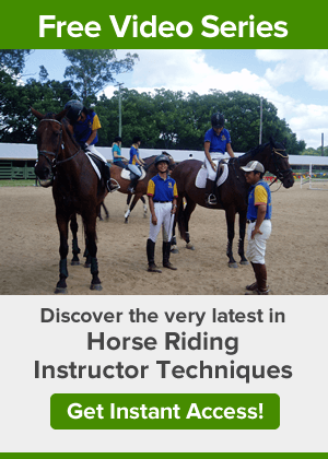 What are the pathways from club to national level in Horse riding?